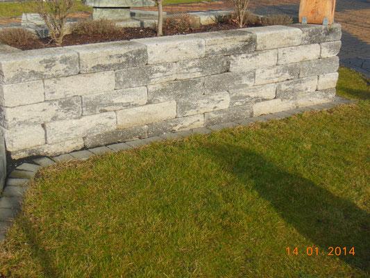 Muros en jardines