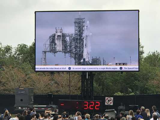 Cape Canaveral - Raketenstart