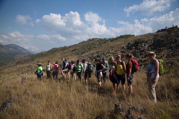 unsere Wanderung in den Chimanimani Bergen