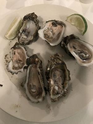 Apalachicola - half dozend Oysters