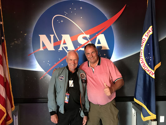 Cape Canaveral - mit Astronaut und Legende Al Worden