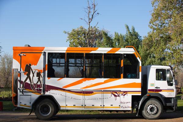 der stand uns nicht zu - Absolut Tourbus für Namibia