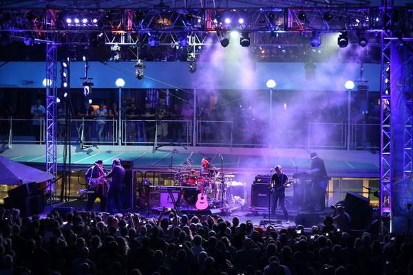 Neal Morse Band auf der Pool-Stage