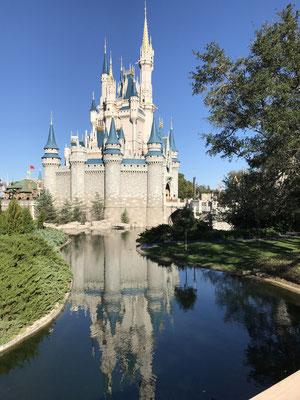 Disney-World - das Cinderella Schloss