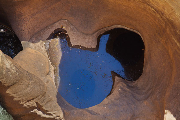Walt Disney hat sich hier wohl Inspiration geholt - Micky Mouse ist ein Pothole
