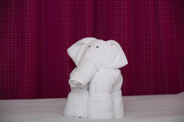 sagt man in dem Fall: ein Bettelefant? Und wenn ja, ist das positiv?