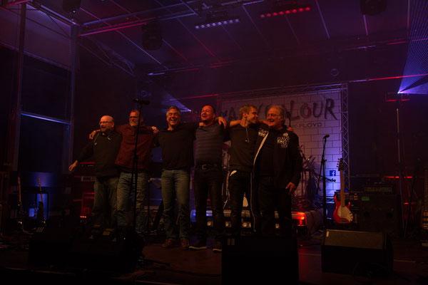 vlnr: Christoph Henn, Eckart Hildebrand, Mark Großer, Uli Schmidt, Jan Matthes, Jürgen Brings