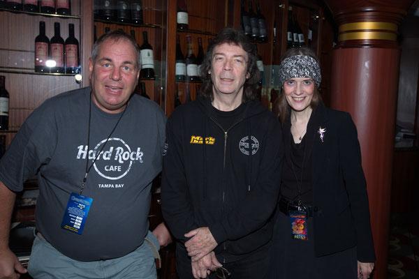 """Steve Hackett und Joanna """"Jo"""" Lehmann"""