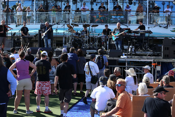PFM auf der Pool-Stage