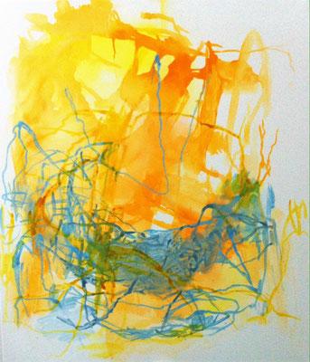 o.T. , Acryl auf Leinwand, 2017, 140x120 cm