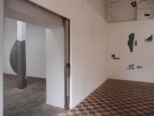 """""""Ortsverbindungen"""", 2018, Galerie DadaPost, Berlin"""