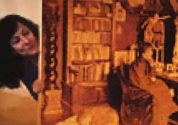 Comrades Of Time, Anita Augsburg, Acryl auf Leinwand, 145 x 213 cm, 2019