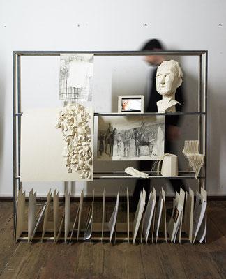 Archive of Todor Vujic_cca150x150cm_2016-2019_multimedia installation_foto credit Dario Fuzinato