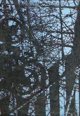 Ausweg 2019 Acryl auf Papier, 115 x 85 cm
