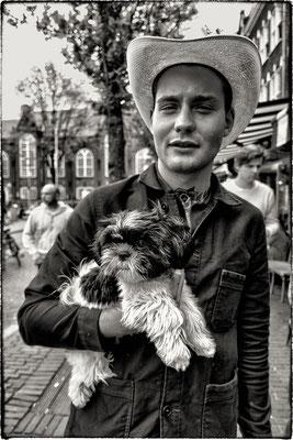 Douwe Bob. Het Spui, Amsterdam.