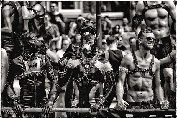Amsterdam Pride 2017, Prinsengracht, Amsterdam.