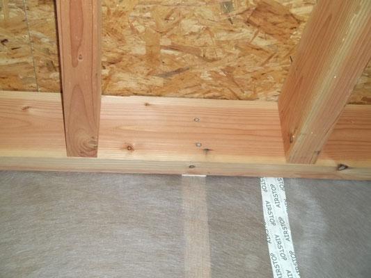 Fixation d'une muraillère sur montant d'ossature bois insuffisante