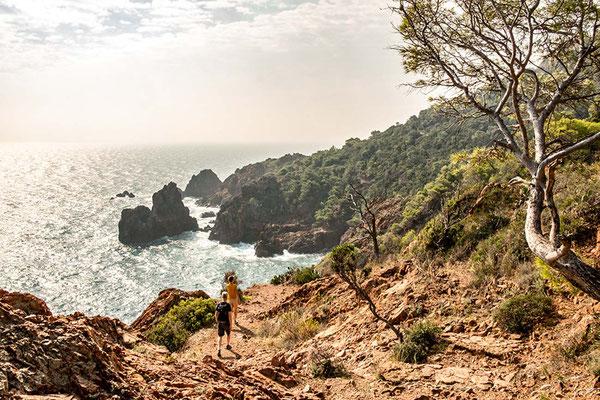 Sentier Littoral ©Côte d'Azur unlimited - Wanderurlaub, Küstenwanderweg