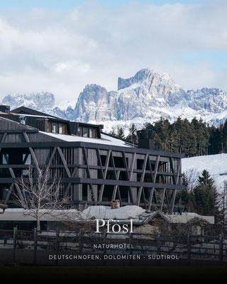 Belvita Wellnesshotel - Hotelempfehlung - Naturhotel Pfösl, Dolomiten (Latemar, Rosengarten)