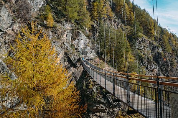 Hängebrücke über die 1000-Stufen-Schlucht