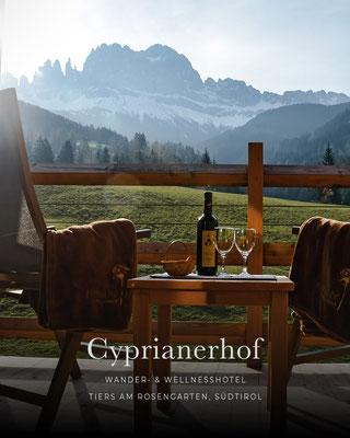 Belvita Leading Wellnesshotels Südtirol: CYPRIANERHOF, Tiers am Rosengarten