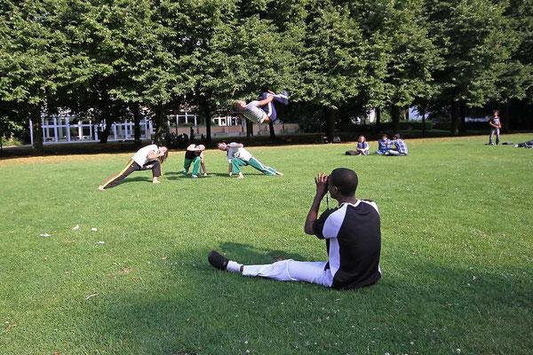 Osnabrück - Akrobatik im Schlosspark