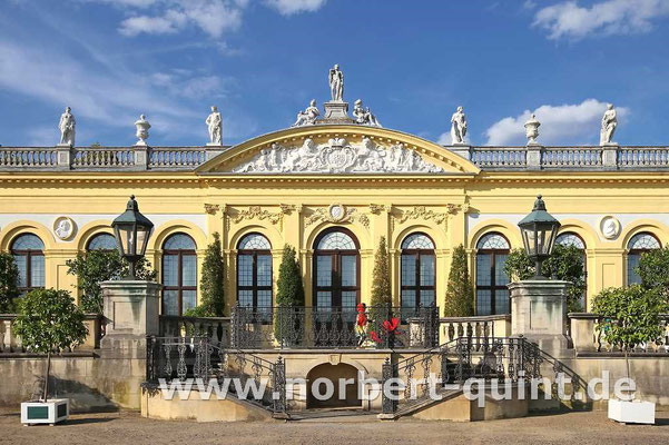 Kassel     Eingang Orangerie