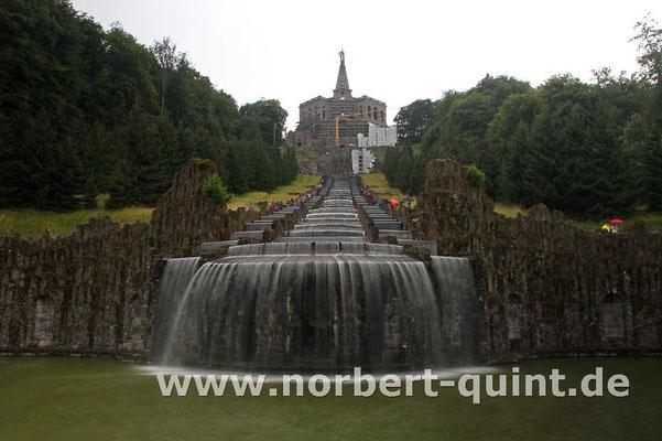 Kassel     Bergpark Wilhelmshöhe - Kaskaden