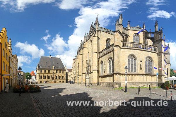 Osnabrück - Rathaus mit Marienkirche