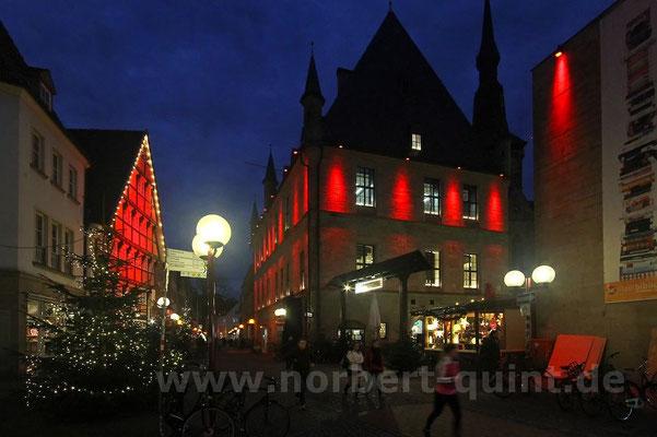Osnabrück - Bierstraße/Rathaus