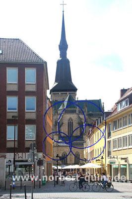 Osnabrück - Blick auf Marienkirche