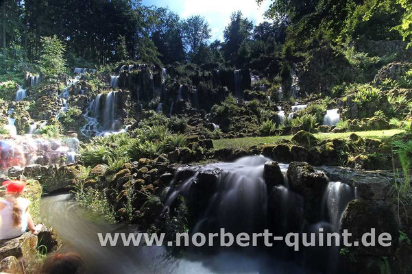 Kassel     Bergpark Wilhelmshöhe - Steinhöfer Wasserfall