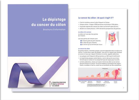Dépistage du cancer du côlon - Programme vaudois et genevois. Brochure