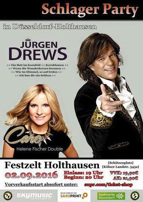 Helene Fischer Double Caro mit Jürgen Drews