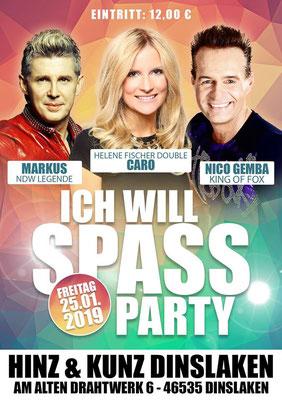 Helene Fischer Double Caro mit Markus und Nico Gemba