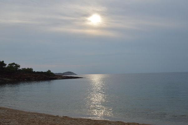 Strand von Salonikios