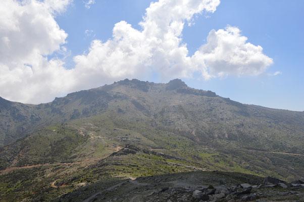 Mount Ochi von Norden