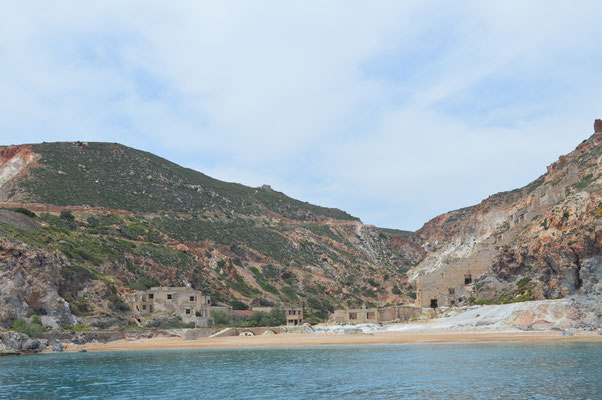 Thiafes-Strand bei der alten Schwefel-Mine