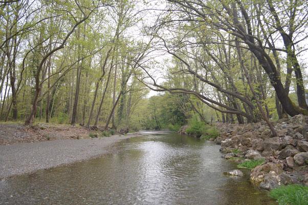 Kireas-Fluss südlich von Mantoudi