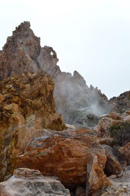 Der Vulkan ist noch aktiv