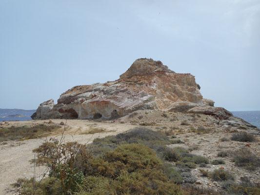 Reste des Bergbaus