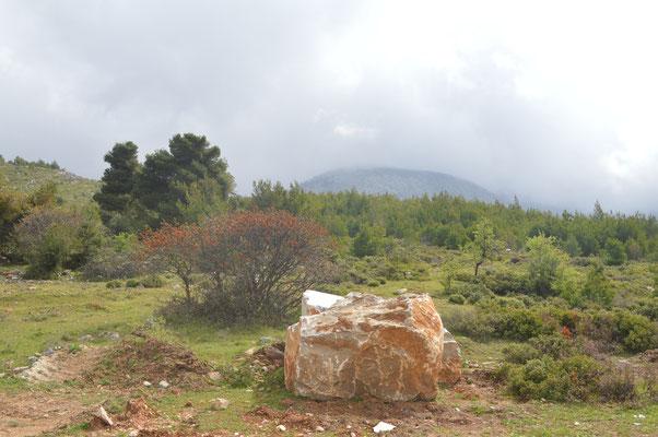Olympos-Gebirge bei Eretria