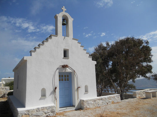 Kapelle kurz vor Apollonas