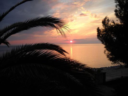 Sonnenuntergang in Potos