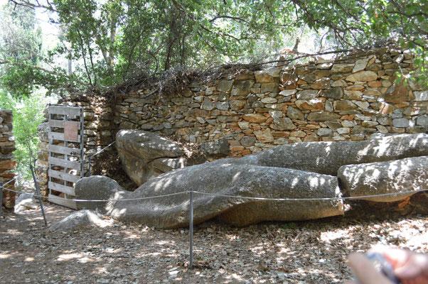 Kouros of Flerio, Naxos