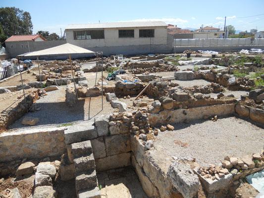 Neue Ausgrabungen in Eretria