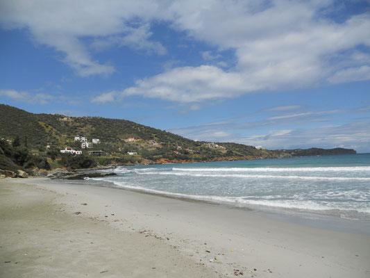 Strand von Liani Ammos