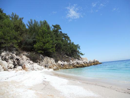 Marmor-Strand von Saliara