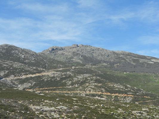 Mount Ochi von Süden