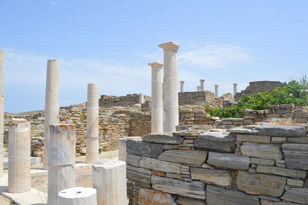 Säulen im Marktviertel